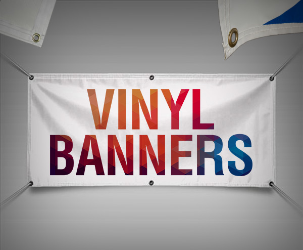 Lowest price for online vinyl banner printing